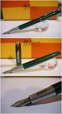 Stylo Picasso 916 Green Electric Fountain Pen - Stilografica NIb France siz M