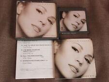 MARIAH CAREY Music Box JAPAN MD(Mini Disc) SRYS1051 w/fold-out INSERT Free S&H