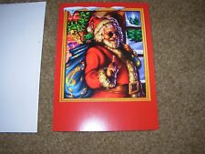 JERRY GARCIA Grateful Dead Holiday Greeting Card JERRY CHRISTMAS poster print