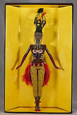 TANO BARBIE DOLL by BYRON LARS - #5 in TREASURES OF AFRICA SERIES NEW NRFB