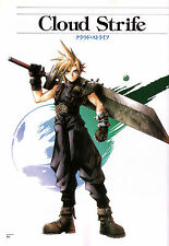 Final Fantasy 7 ( Cloud ) Poster - Beautiful -  Huge Poster 22 in x 34 in