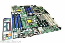SUPERMICRO X8DA6 ATX MOTHERBOARD SYSTEM MAIN BOARD LGA1366 + IO PLATE * Tested