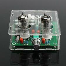 6J1 Valve Pre-amp Tube PreAmplifier Board Headphone Amplifier Buffer Acrylic Box