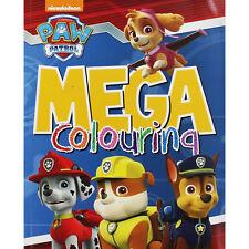 Patrulla Canina: Mega Libro Para Colorear con 12 Lápices Colores incluido