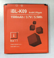 100% Original Ibl-K09 Battery for Iball Andi4.5 Ripple with 1500 mAh