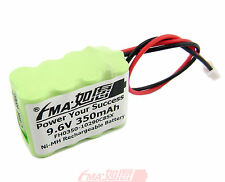 Ni-MH 9.6V 350mAh Rechargeable Battery for Model Toys w/JST-XHR-2P