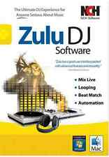 Zulu Virtual DJ Mixing Software , Audio Mix Edit DJ solution Home Edition