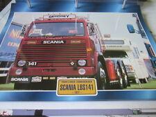 Super Trucks Frontlenker Schweden Scania LBS141, 1977