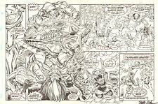 Hyperkind #? pgs. ? - Action DPS on One Board - 1993-94 art by Paris Cullins