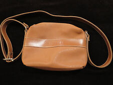Esprit Brown Faux Leather Shoulder Strap CrossBody Bag  Womens Purase