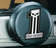 Harley Davidson HD wheel auto suv motorcycle truck jeep rear spare tire cover