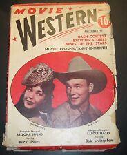 MOVIE WESTERN Magazine October 1941 Magazin ROY ROGERS BUCK JONES Zeitschrift