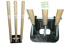 getpaddedup SPRING BACK CRICKET STUMPS (SPRING-LOADED)