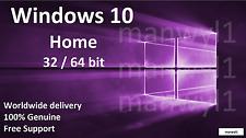 Rottami/Barebone PC con autentico Windows 10 32/64 Bit COA HOME Product Key