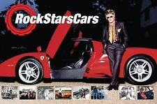 Rock Stars Cars : 127 Stars and Their Cars by Dave Roberts (2016, Hardcover)