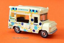 2010 Matchbox Loose Ice Cream Van Cream Polka Dot Ice Cream Co Multi Pack Ex