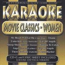 Karaoke: Movie Classics Women by Various Artists