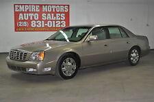 Cadillac: DeVille DTS Sedan 4-Door