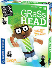 Grass Head science Project kit Geek & Co. Thames & Kosmos Plant