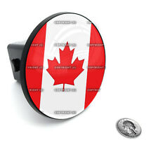 """2"""" Tow Hitch Receiver Plug Cover Insert For SUV's & Trucks - """"CANADIAN FLAG"""""""