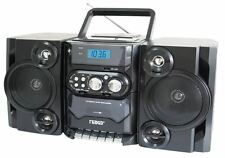 Portable MP3/CD Player with AM/FM Stereo Radio and Cassette Player/Recorder