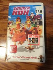 Chicken Run VHS New Sealed 2000 Clam Shell Case