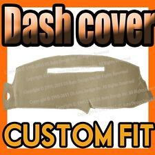 1999-2001 CADILLAC ESCALADE DASH COVER MAT DASHBOARD PAD /  BEIGE COLOR
