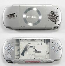 Sliver Housing Faceplate Case Cover for PSP 2000 Slim ( FF VII Edition)