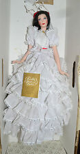 Franklin Heirloom Doll Gone with the Wind Scarlett OHara White Dress in Box