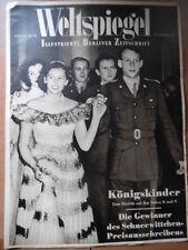 WELTSPIEGEL 20 - 1950 KÖNIGSKINDER weltweit Berlin Mode + Radio-Programm