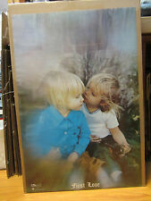 vintage First Love 1971 Poster original NICE