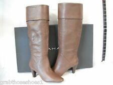 Tahari Size 6.5 M Gentry Brown Leather Boots New Womens Shoes