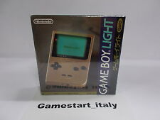 CONSOLE NINTENDO GAME BOY LIGHT LIMITED GOLD EDITION MGB-101 JAPAN - NEW