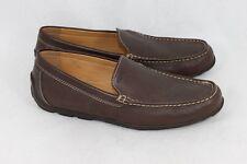 Geox Men's 'Monet' Driving Shoe Dark Brown Leather, UK 8 / EU 42