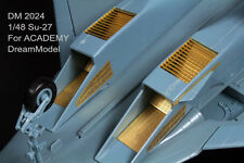 Dreammodel 1/48 2024 SU-27 Russian Sukhoi Update Detail PE for Academy