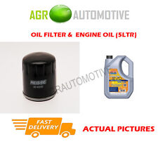 DIESEL OIL FILTER + LL 5W30 OIL FOR FIAT FIORINO PICK UP 1.7 57 BHP 1999-99