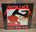 METALLICA - Kill 'Em All Import 150 Gram BLACK VINYL New & Sealed! OOP!