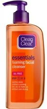 Clean and Clear Essentials Foaming Facial Cleanser, 8 Fl Oz