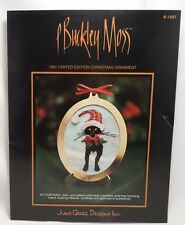 P Buckley Moss 1997 Christmas Ornament Cross Stitch Pattern Chart Only K-1997