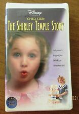 Disney's Child Star: The Shirley Temple Story (VHS Clamshell, 2001) Biography