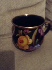 MACKENZIE CHILD FLOWERED METAL CUP