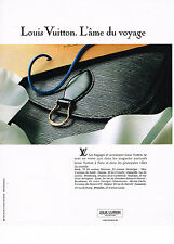 PUBLICITE ADVERTISING 034  1991   LOUIS VUITTON   bagages  accessoires