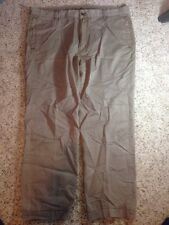 Tommy Bahama Indigo Palms Mens Pants 42 Cotton/Tencel Khaki/Brown/Gold. Ked