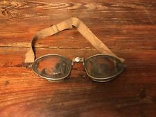 Vintage American Optical AO Aviator Pilots Goggles