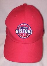 *NEW Reebok NBA Select Series Detroit Pistons Adjustable Snapback Basketbal Cap