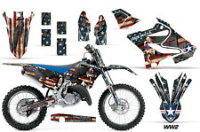 AMR Racing Yamaha YZ 125/250 Graphic Number Plate Kit MX Bike Decals 2015 WW2