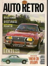 AUTO RETRO 137 LANCIA FULVIA ZAGATO VOLVO 120 AMAZON FLORIDE 403 BENTLEY SPEED 6