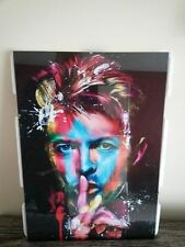 DAVID BOWIE COLOURFUL PSYCHEDELIC High Quality Gloss  Print A4 Framed Poster