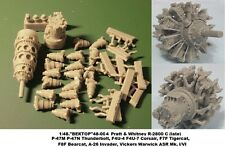 """1/48 """"vector"""" radial engines (20 various, sell separately -how You need)"""