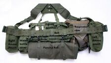 1958 webbing belt kit, Grade 1 belt kit Good Used. SAS, Airsoft, Para, Falklands
